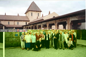 Members of the Fletcher Challenge Friendship Club tour group visiting the Montana Winery, Blenheim as part of the Top of the South Island tour, October 1991
