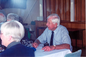 Tim Russell, member of the Central Districts Retirees' Club 2002